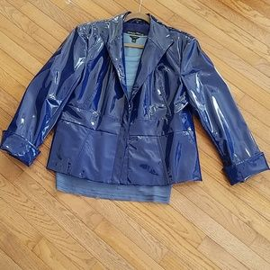 Pamela McCoy Patent leather Jacket
